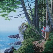 Lyle Longstaff,   High on Juan de Fuca Trail